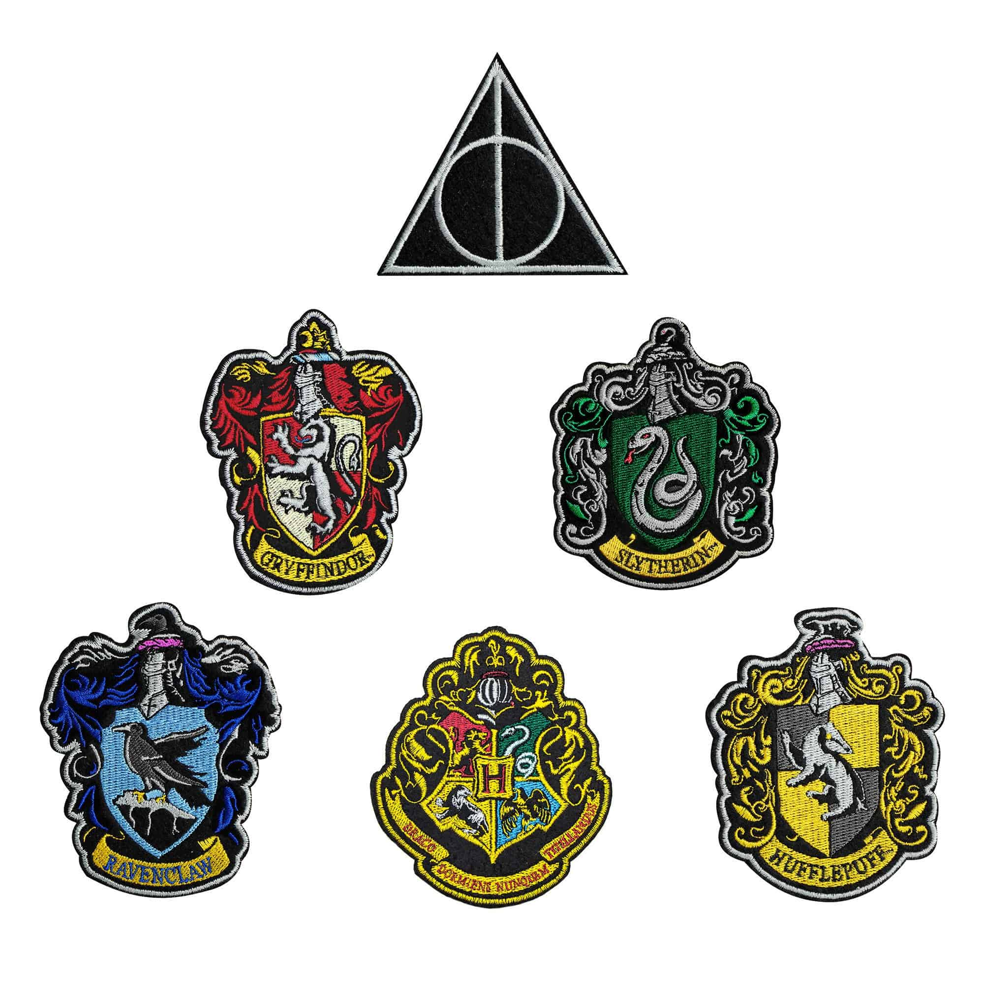 Ecusson Harry Potter Blason Poudlard Version 1 | Logo Store